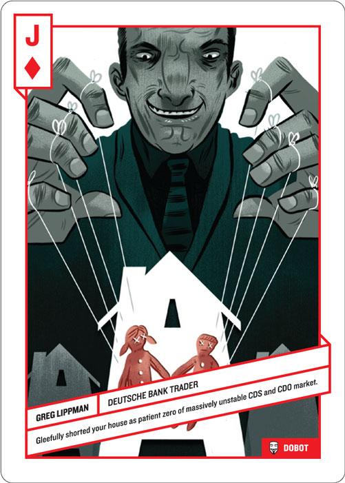 Jack of Diamonds, Greg Lippman by Dobot